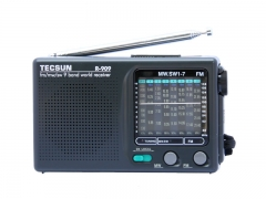 TECSUN R-909 AM FM SW1-7 9 Bands World Band Receiver Portable Radio