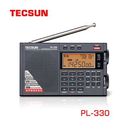 2021 New Tecsun PL-330 Radio Latest Firmware Version 3305 FM/MW/SW/LW all band portable radio