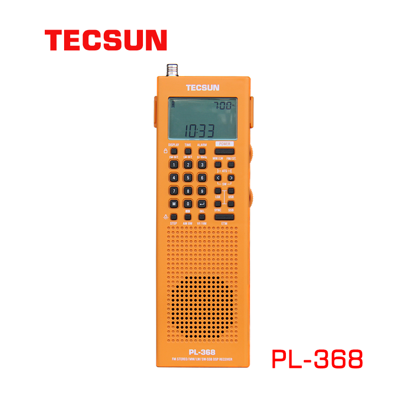 TECSUN PL-368 FM-Stereo MW SW World Band Stereo DSP ETM ATS Radio